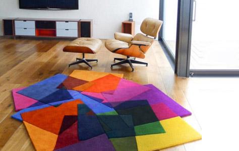 красочный коврик